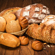 Assortment of baked bread — Stock Photo #9593579