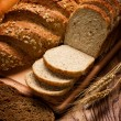 Assortment of baked bread — Stock Photo #9593685