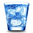 Drink with ice close-up — Stock Photo #9593763