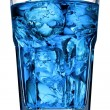 Drink with ice close-up — Stock Photo