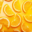 Orange slices background — Stock Photo #9594280