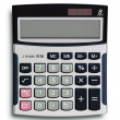 Business calculator - Stock Photo