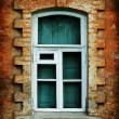 Stock Photo: Vintage window