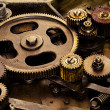 Gear background - Stock Photo