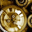 Stock Photo: Gears from mechanism