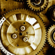 Gears from mechanism — Stock Photo