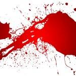 Red splash — Stock Photo