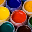 Colors and painting brushes. — Stock Photo #9597758