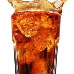 Cola splash — Stock Photo #9597878