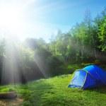 Tourist tent — Stock Photo #9598040