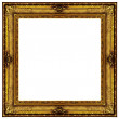ストック写真: Gold antique frame