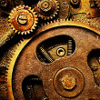 Gears from old mechanism — Stock Photo