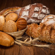 Assortment of baked bread — Stock Photo #9599935