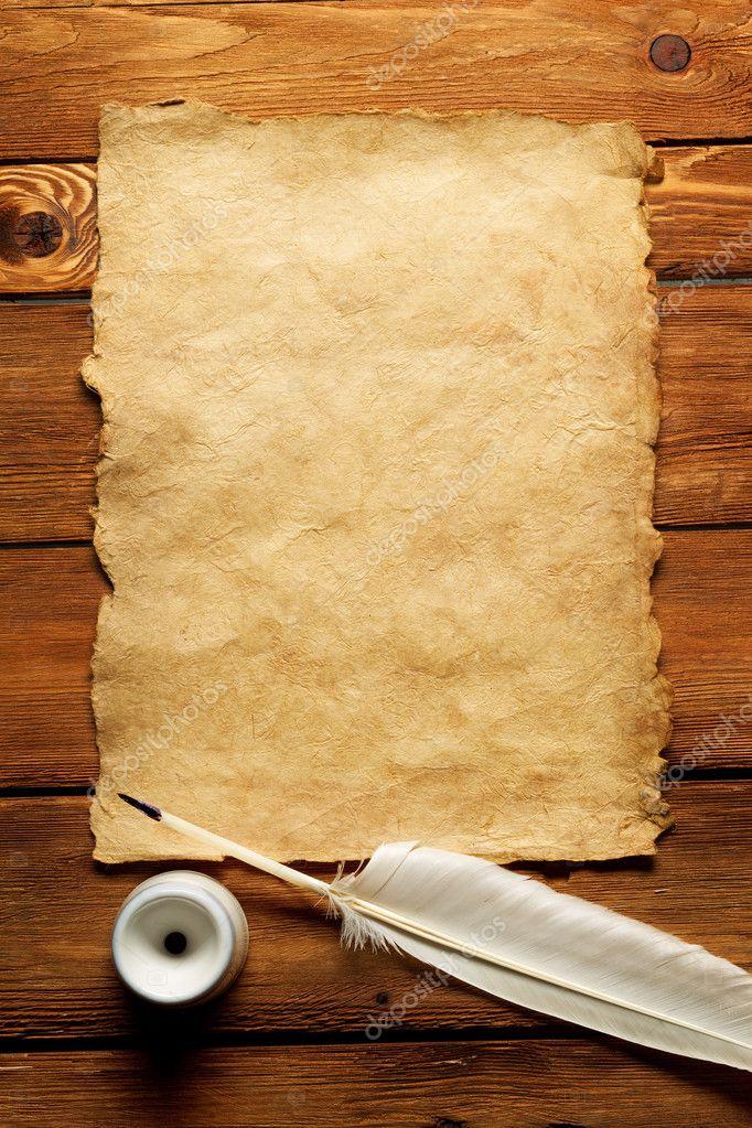 Старый лист бумаги своими руками