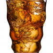 Stockfoto: Cola in glass