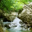 Natural Spring Waterfall — Stock Photo #9602220