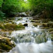 Natural Spring Waterfall — Foto de Stock