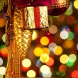 Christmas lights, abstract background — Stock Photo #9604866
