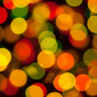 Christmas lights, abstract background - Stock Photo