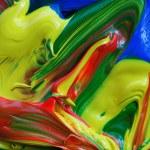 kleur verf achtergrond — Stockfoto