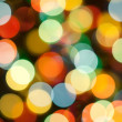 Christmas lights, abstract background — Stock Photo #9606048