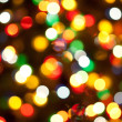 Stock Photo: Christmas lights, abstract background