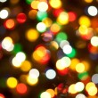 Christmas lights, abstract background — Stock Photo #9606057
