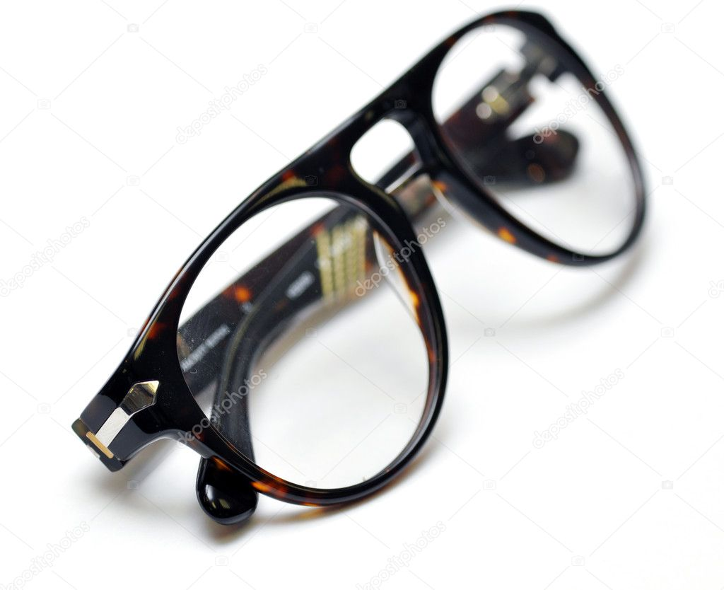 Glasses isolated on white  Stock Photo #10520005