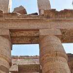 Columns at Karnak Temple, Luxor, Egypt — Stock Photo #9269064
