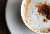 Closeup image of espresso — Stock Photo