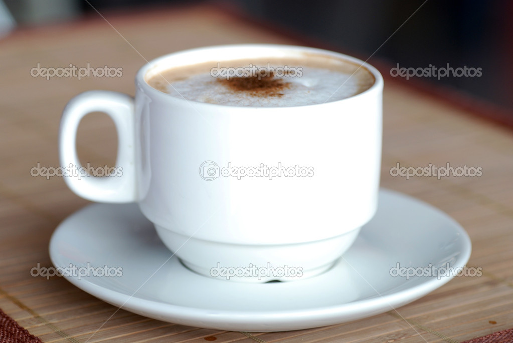 Cup of coffee  Stock Photo #9268634