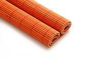 Napkin bamboo — Stock Photo