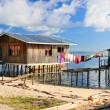 Sea gypsy houses — Stock Photo