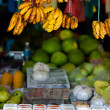 Market stall - Stock Photo