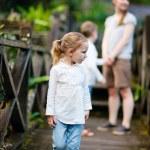 Family outdoors — Stock Photo #10146306