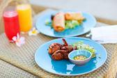 Heerlijke Aziatisch eten — Stockfoto