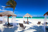 Caribbean coast — Stock Photo