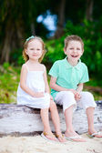 Brother and sister — Stock Photo