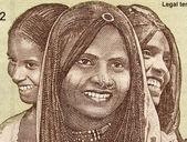 Three Young Women from Eritrea — Stock Photo