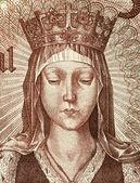 Elizabeth of Aragon — Stock Photo