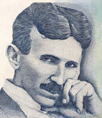 Nikola Tesla — Stock Photo