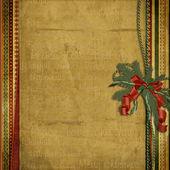 старинные рождественские фоны с пространством для текста или фото — Стоковое фото