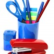 Stock Photo: School accessories