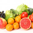Ripe fruit and fresh vegetables — Foto de Stock