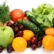 Ripe fruit and vegetables — Stock Photo #10418899