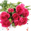 Bouquet of pink roses — Stock Photo #10419191