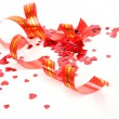 Streamer and confetti — Stock Photo #10421521