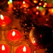 Burning candles — Stockfoto #10449353