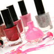 Color nail polish — Foto de Stock