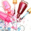 Color nail polish — Stock Photo #10479046